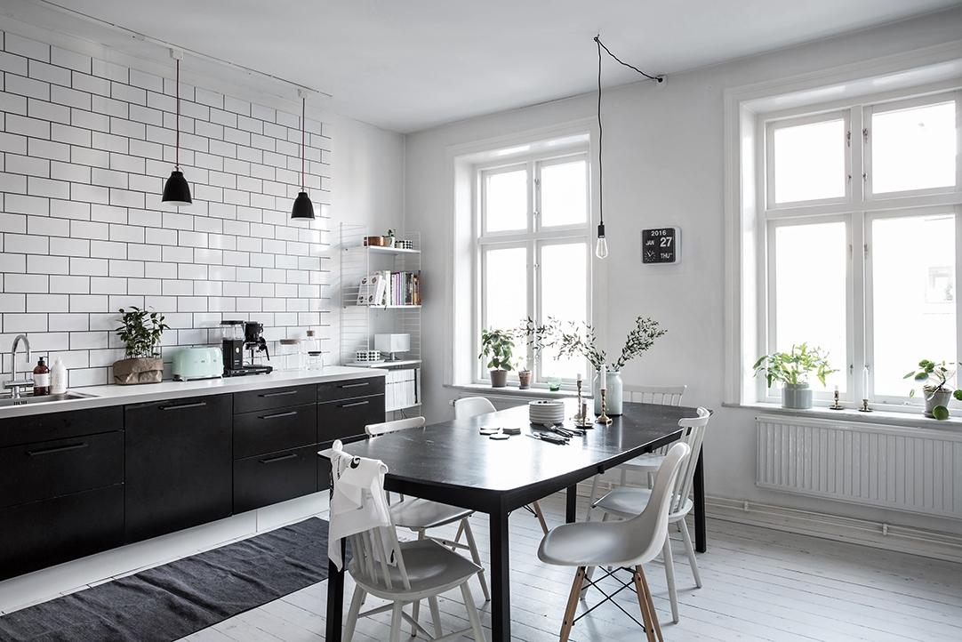 La cuisine shabille de gris  Diaporama Photo